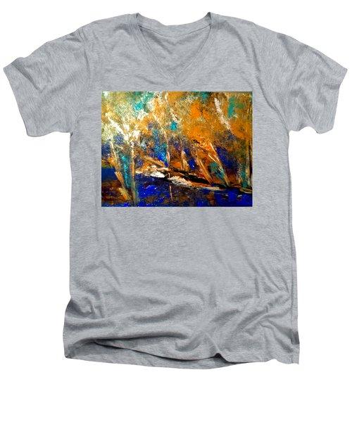 Colorado Aspen Men's V-Neck T-Shirt