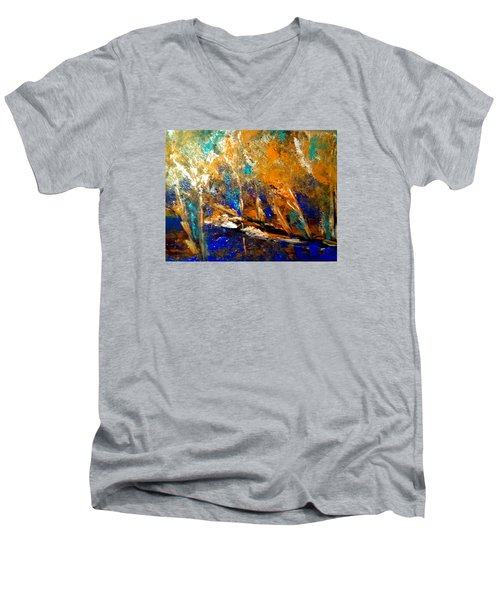 Colorado Aspen Men's V-Neck T-Shirt