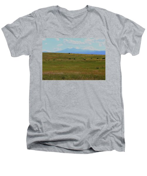 Colorado Grassland Men's V-Neck T-Shirt