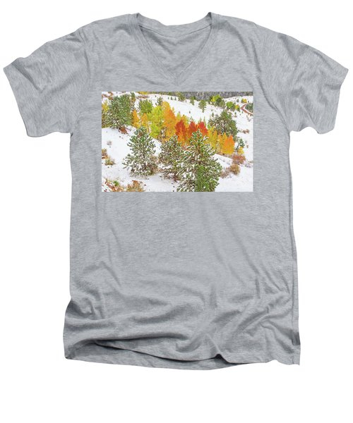 Colorado Is Stunningly Beautiful. Here's One Example Among Countless Others.  Men's V-Neck T-Shirt