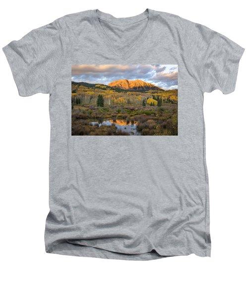Colorado Sunrise Men's V-Neck T-Shirt