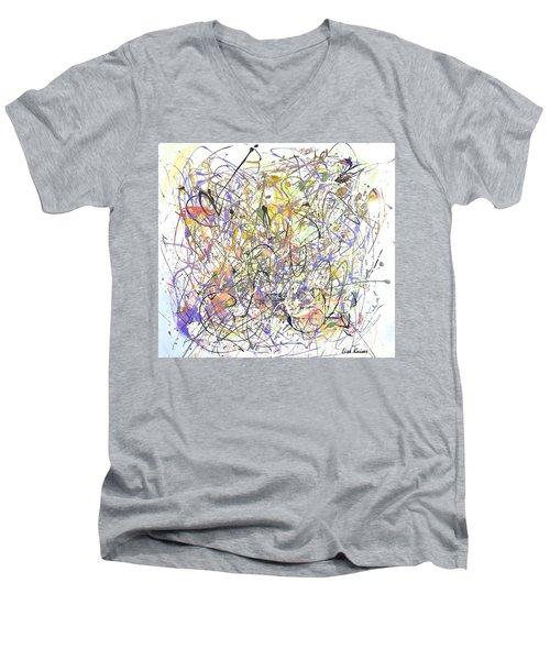 Colorful Blog Men's V-Neck T-Shirt