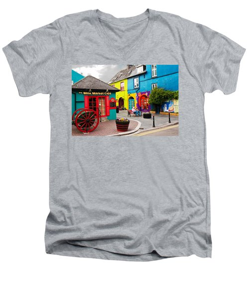 Colorful Corner Men's V-Neck T-Shirt