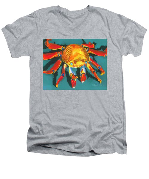 Colorful Crab II Men's V-Neck T-Shirt
