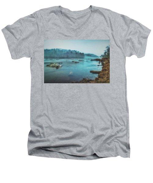 Colorful Fog Men's V-Neck T-Shirt