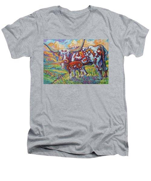 Colorful Momma Men's V-Neck T-Shirt