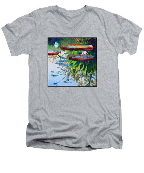 Colorful Reflections Men's V-Neck T-Shirt