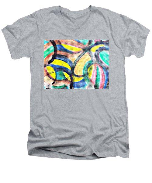 Colorful Soul Men's V-Neck T-Shirt