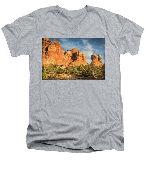 Colors Of Chesler Park Men's V-Neck T-Shirt