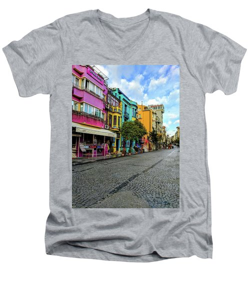 Colors Of Istanbul Men's V-Neck T-Shirt