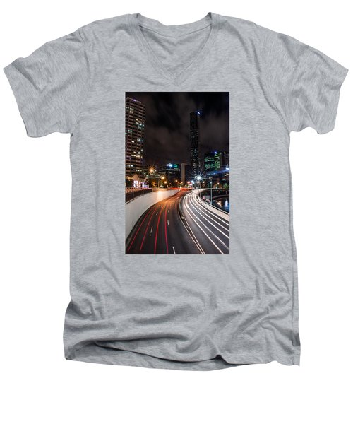 Colors Of The City Men's V-Neck T-Shirt