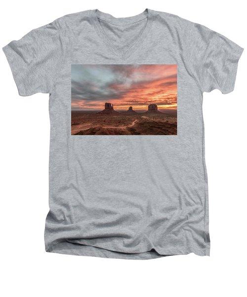 Colors Of The Past Men's V-Neck T-Shirt