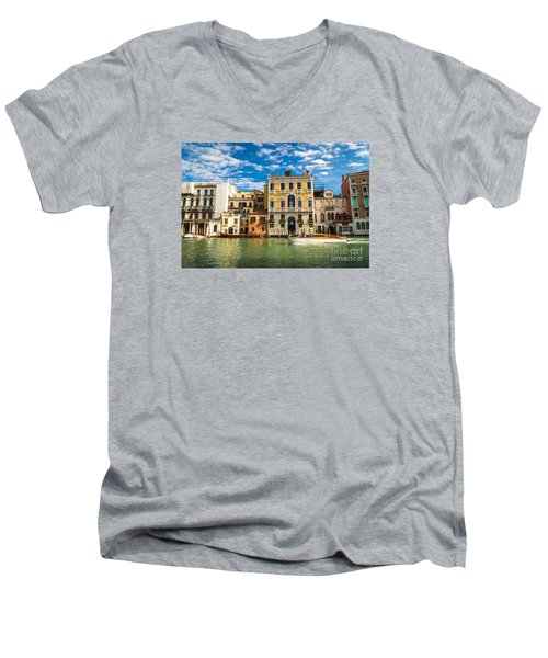 Colors Of Venice - Italy Men's V-Neck T-Shirt