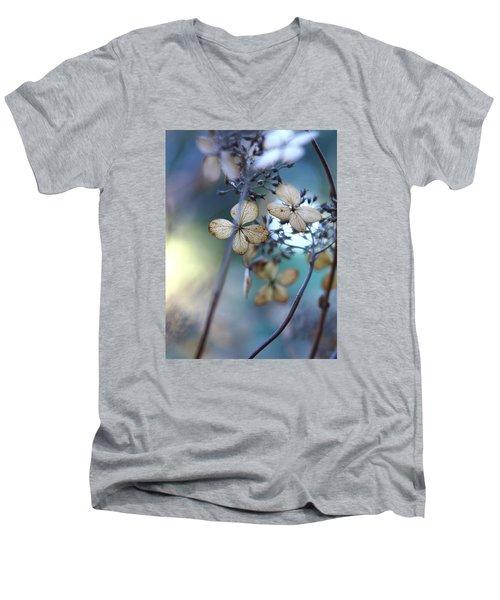 Colors Of Winter Men's V-Neck T-Shirt