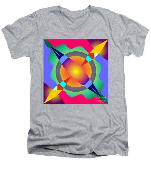 Colorscape 1-5 Men's V-Neck T-Shirt