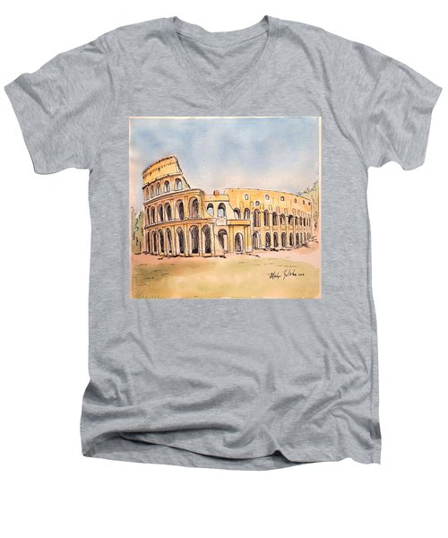 Colosseum Men's V-Neck T-Shirt