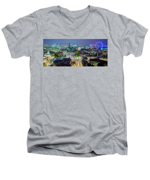 Colourful London Men's V-Neck T-Shirt