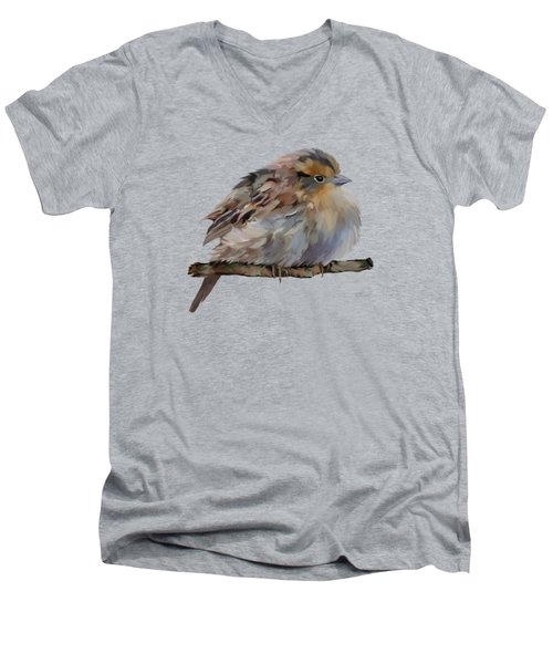 Colourful Sparrow Men's V-Neck T-Shirt by Bamalam  Photography