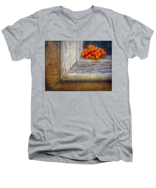 Men's V-Neck T-Shirt featuring the photograph Come And Gone by Bellesouth Studio