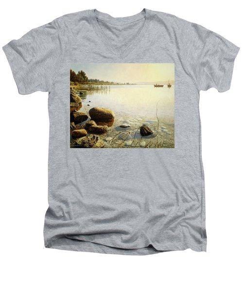 Come Follow Me Men's V-Neck T-Shirt