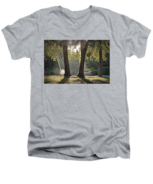 Come On Spring Men's V-Neck T-Shirt by Phil Mancuso