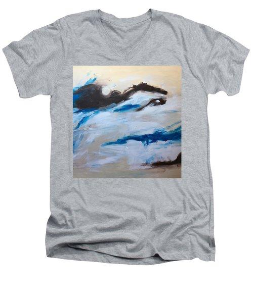 Come Play Men's V-Neck T-Shirt