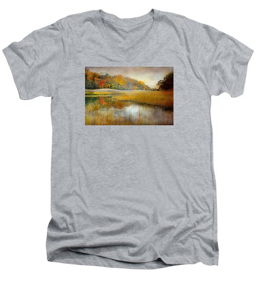 Come What May Men's V-Neck T-Shirt by Diana Angstadt