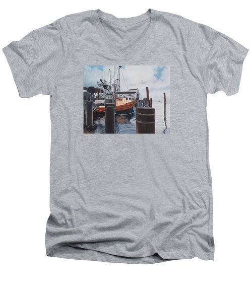 Coming Home Men's V-Neck T-Shirt