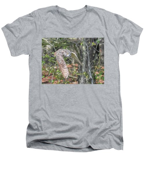 Coming Out Of The Woods Men's V-Neck T-Shirt