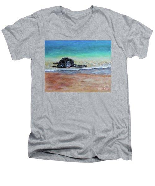 Coming To Nest Men's V-Neck T-Shirt