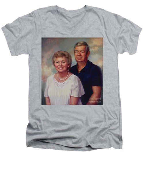 Commission  Men's V-Neck T-Shirt