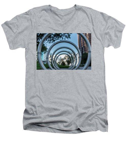 Commuter's Circle Men's V-Neck T-Shirt