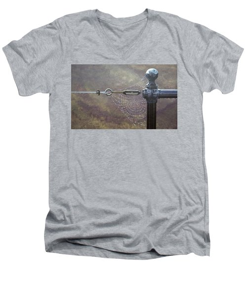 Comparative Engineering Men's V-Neck T-Shirt by Laurie Stewart