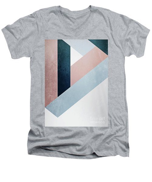 Complex Triangle Men's V-Neck T-Shirt