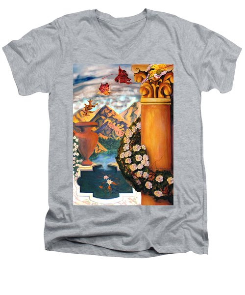 Composite Men's V-Neck T-Shirt