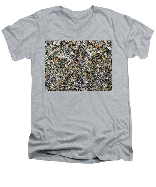 Composition #16 Men's V-Neck T-Shirt