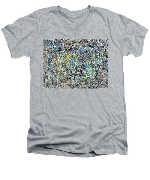 Composition #17 Men's V-Neck T-Shirt