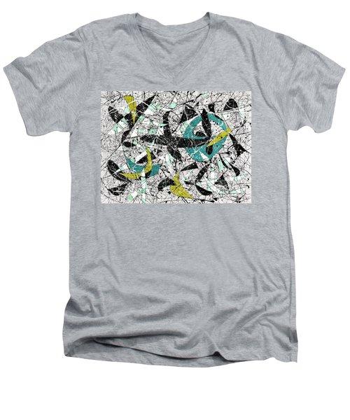 Composition #18 Men's V-Neck T-Shirt