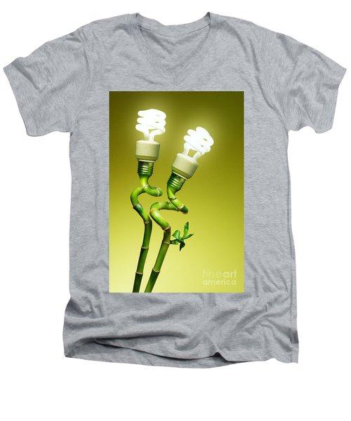 Conceptual Lamps Men's V-Neck T-Shirt