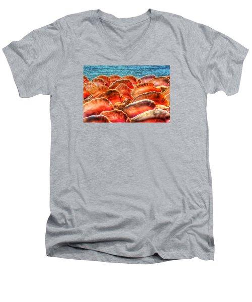 Conch Parade Men's V-Neck T-Shirt