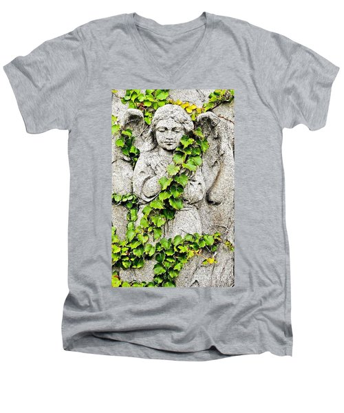 Concrete Angel Men's V-Neck T-Shirt