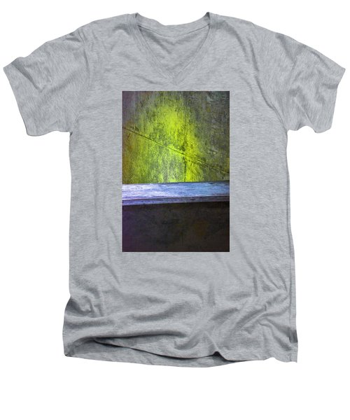 Concrete Love Men's V-Neck T-Shirt by Raymond Kunst