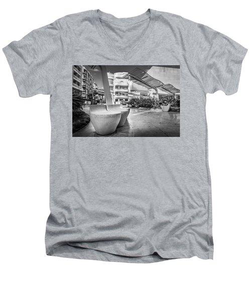 Concrete Seats. Men's V-Neck T-Shirt