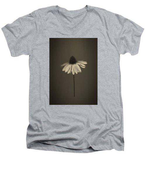 Cone Flower 8 Men's V-Neck T-Shirt by Simone Ochrym