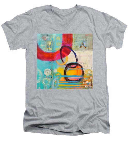 Conections Men's V-Neck T-Shirt