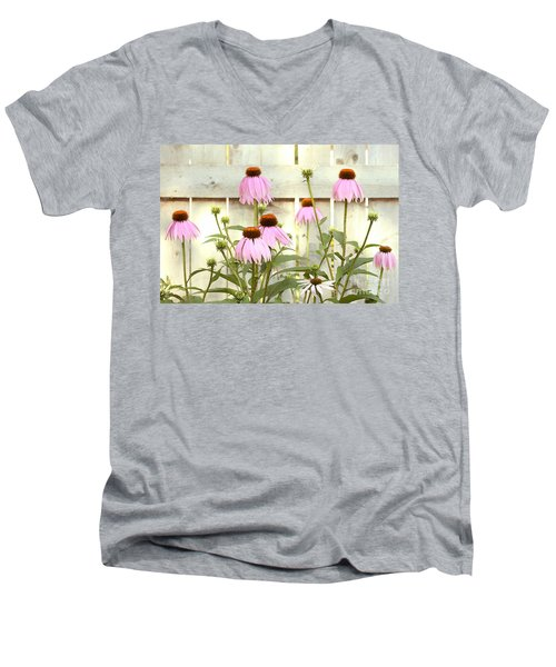 Coneflower Patch Men's V-Neck T-Shirt