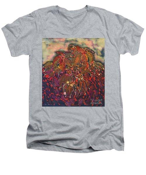 Coneflower Spirit Men's V-Neck T-Shirt