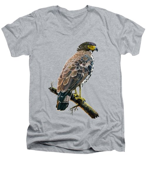 Congo Serpent Eagle Men's V-Neck T-Shirt