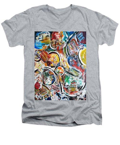 Connection Men's V-Neck T-Shirt