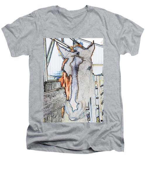 Connections To Childhood Men's V-Neck T-Shirt